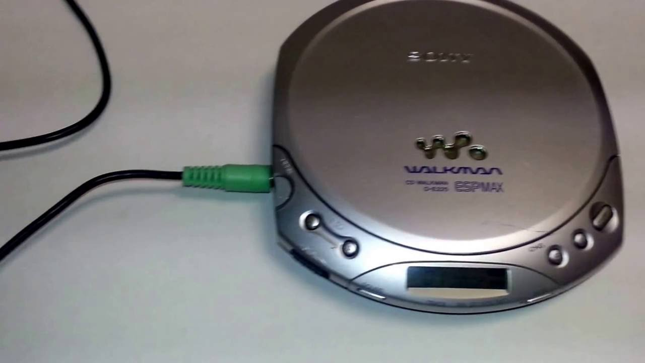 sony cd walkman d ej100 manual