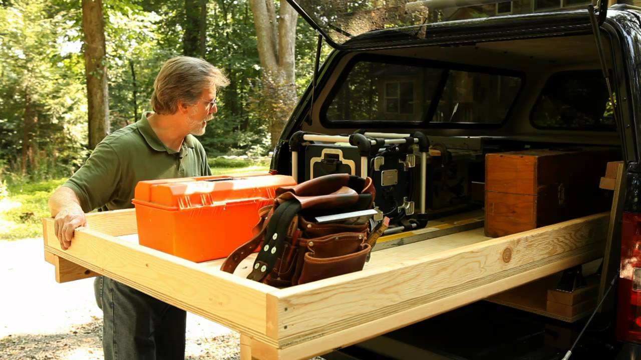 Diy Truck Bed Drawer Slides