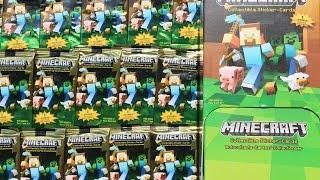 Minecraft Collectible Sticker-Cards
