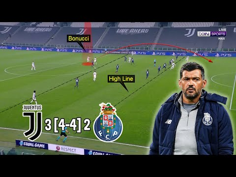 A Hard Fought Victory for FC Porto | Juventus vs Porto 3-2 [4-4] | Tactical Analysis