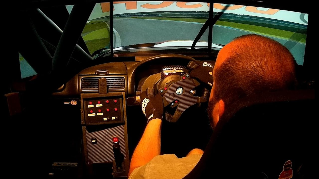 Custom built DTM / Prototype sim racing wheel (Thrustmaster 458)