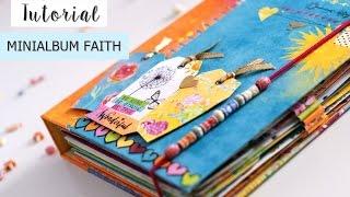 Tutorial Mini álbum Faith - espiral oculta