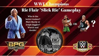 WWE Champions Gameplay - Slick Ric - Who is the better trainer