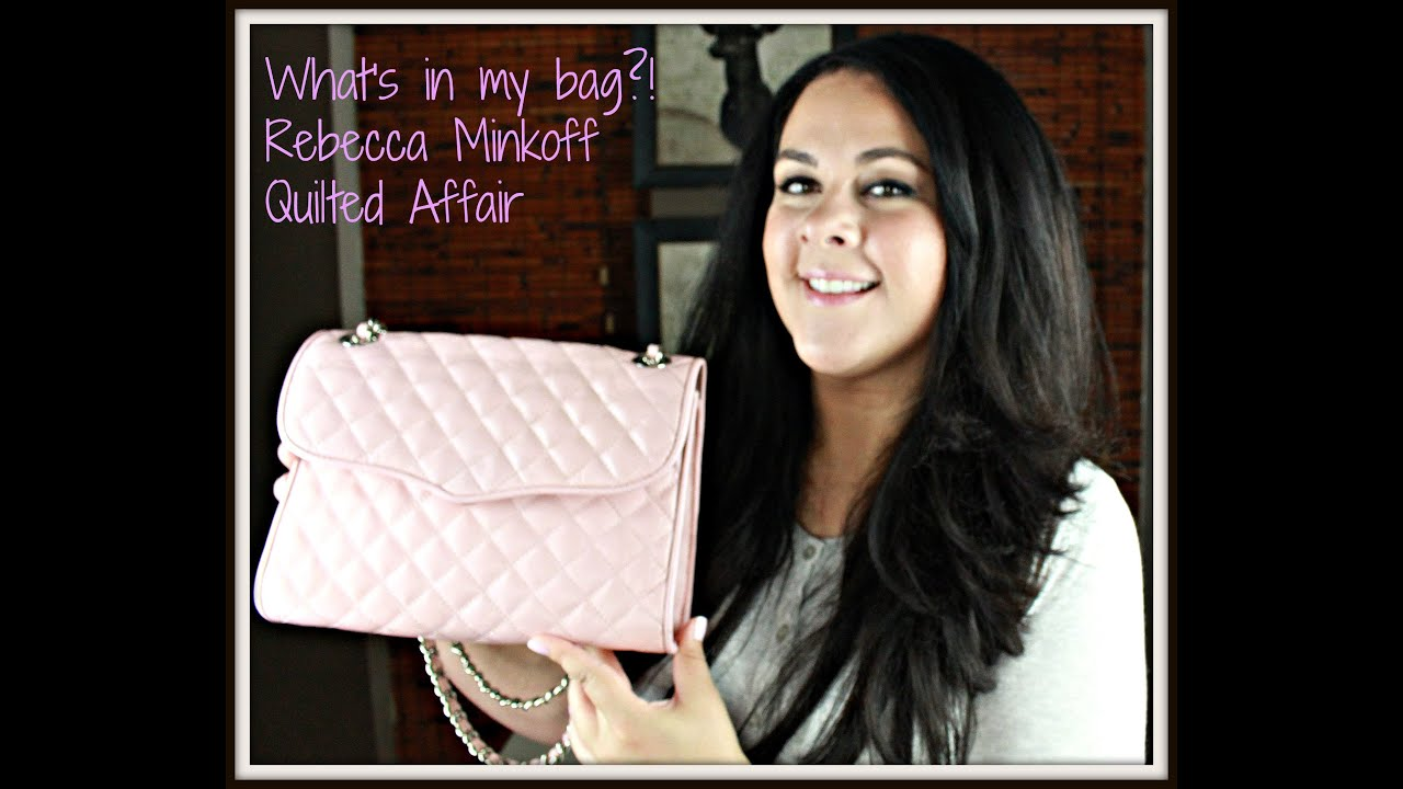 minkoff quilted rebecca gallery diamond affair women blue s at shoulder bag product quilt gunmetal mini white previously bags in soft bloomingdale lyst sold