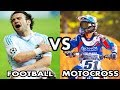 MOTOCROSS VS FOOTBALL - [HD]