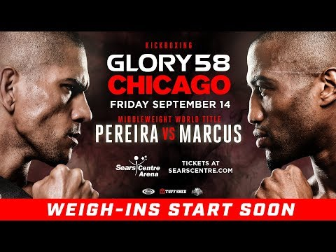 GLORY 58 Chicago: Weigh-Ins