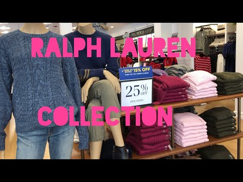 RALPH LAUREN OUTLET FALL AND WINTER COLLECTION| U.S.A