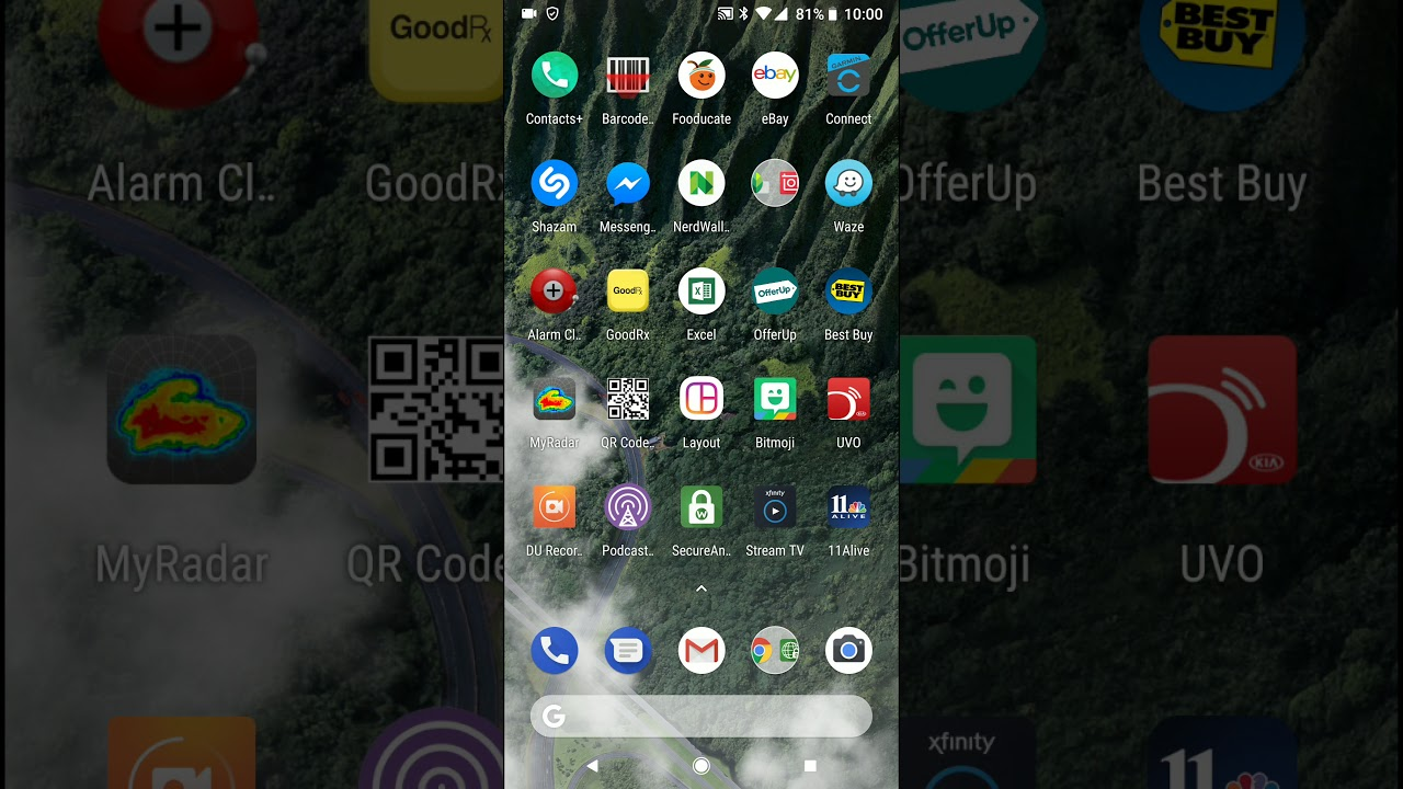 Google Pixel 2 XL Business Card Scanner Demo - YouTube