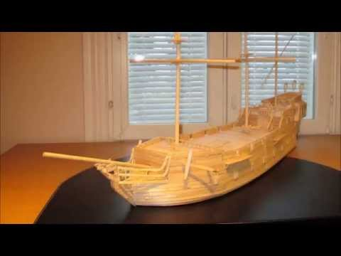 The Black Pearl model ship