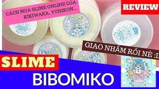 BIBO MIKO SHOP KHÔNG GIAO NHẦM HÀNG! REVIEW SLIME BIBO MIKO VÀ CÁCH MUA SLIME ONLINE