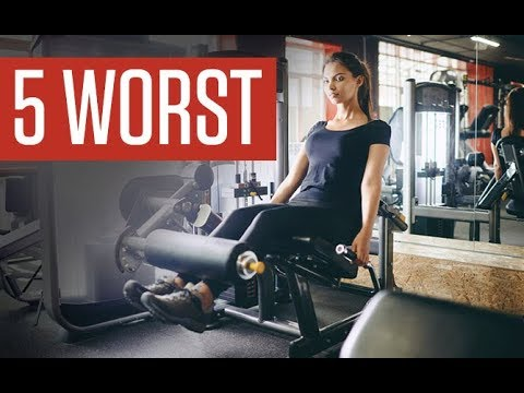 5 Worst Leg Exercises for Women (STOP DOING THESE!!)