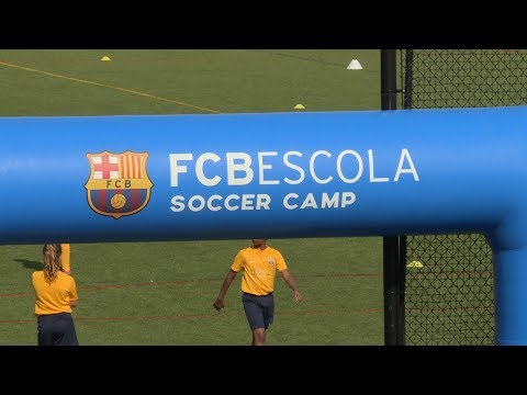 FC Barcelona scours the US for new talent