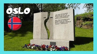 OSLO: The stunning Memorial Cemetery (Aereslunden) in Norway