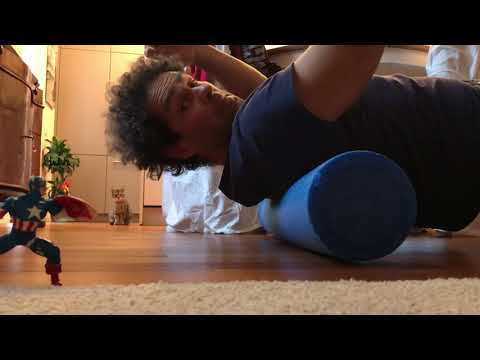 How to self crack your back - self chiropractor back pain relief