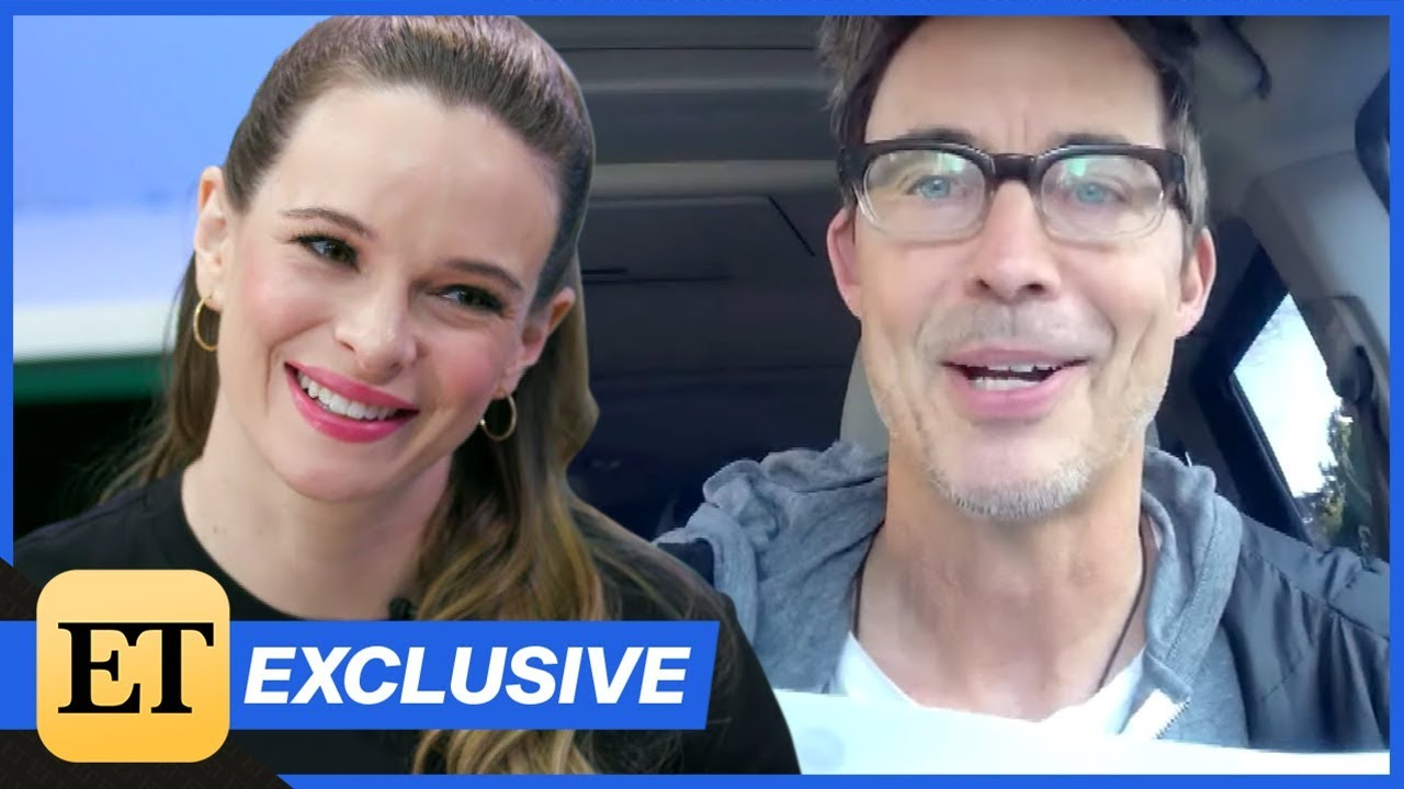 Download The Flash: Danielle Panabaker REACTS to a Surprise Question From Tom Cavanaugh! (Exclusive)
