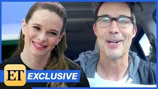 The Flash: Danielle Panabaker REACTS to a Surprise Question From Tom Cavanaugh! (Exclusive)
