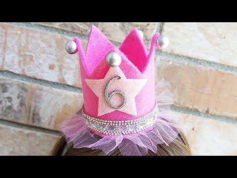 DIY Kunin Felt Princess Party Crown