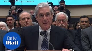 Mueller confirms that his report did NOT exonerate Trump
