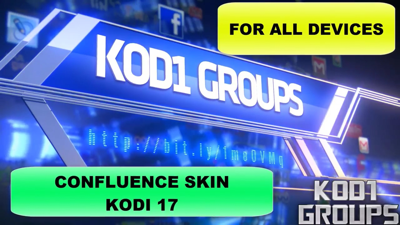 how to add confluence skin to kodi