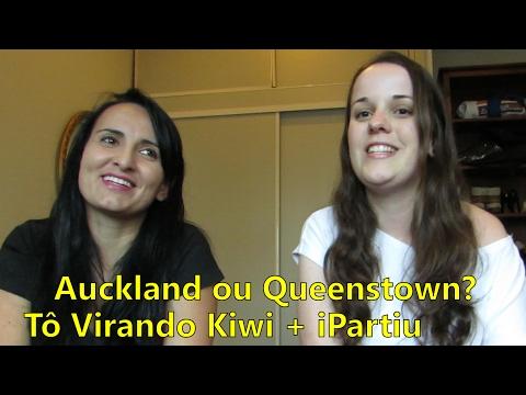 Auckland ou Queenstown? Com Re Furtado (tovirandokiwi)