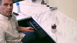 Under counter pencil tray organizer Thumbnail