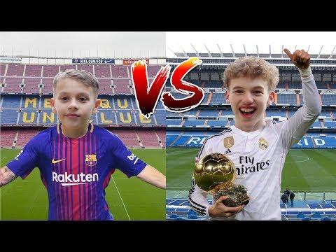MESSI vs RONALDO? EPIC FOOTBALL CHALLENGE QUIZ!!