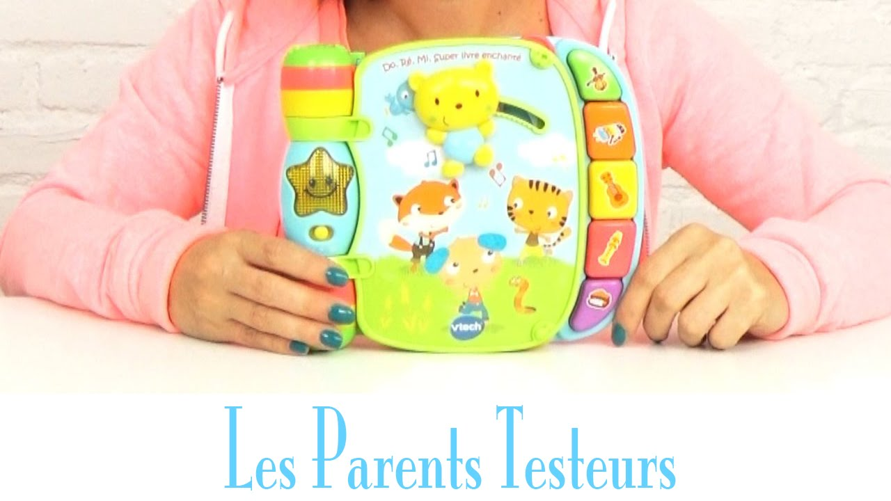 Super Livre Enchante Do Re Mi Vtech Les Parents Testeurs