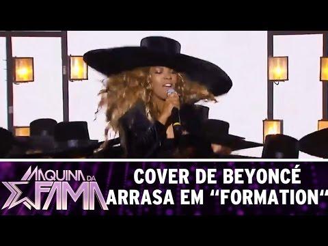 """Máquina da Fama (15/08/16) - Cover de Beyoncé arrasa ao som de """"Formation"""""""