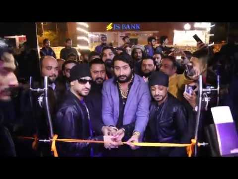 ZAFAR SUPARI and RDB SAHARA from uk opening and music show KAFE.COM bahria town ISLAMABAD