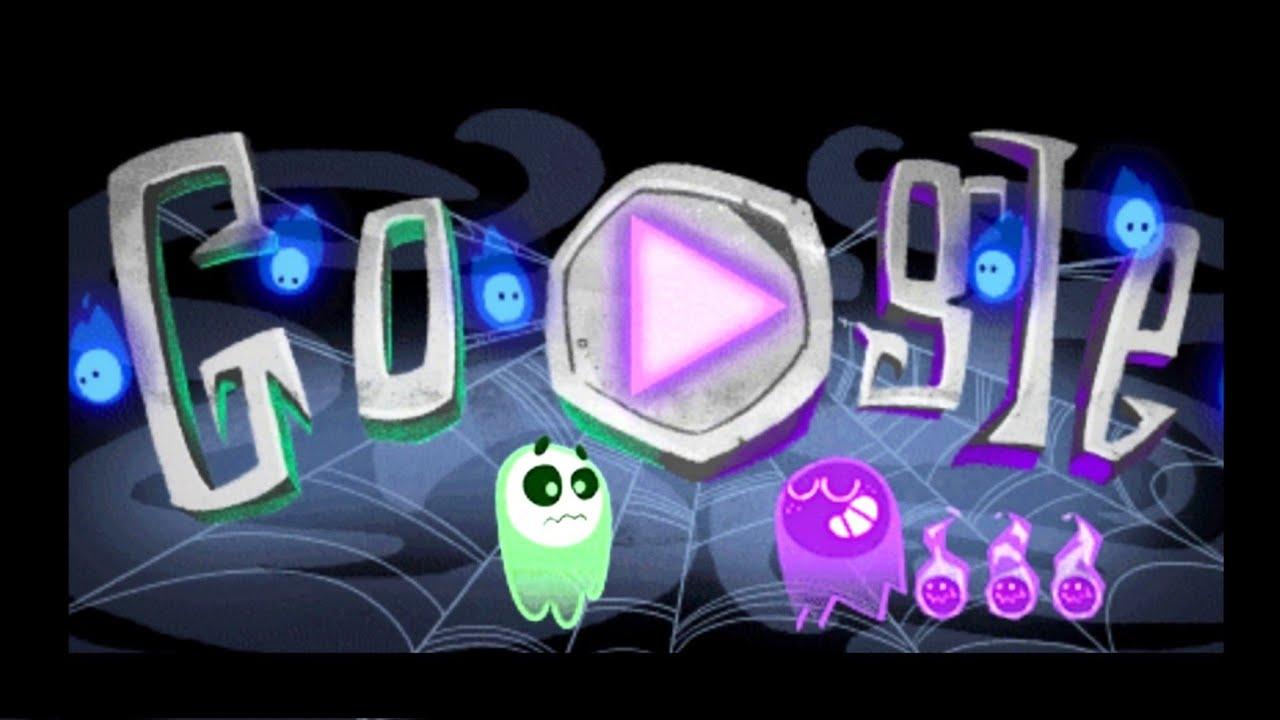Google Doodle Halloween Game Smartphone Pc Mac Youtube