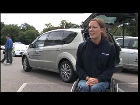 Para Olympics skier joins Ford Motability team