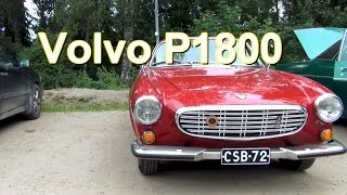 Volvo P 1800 old Car