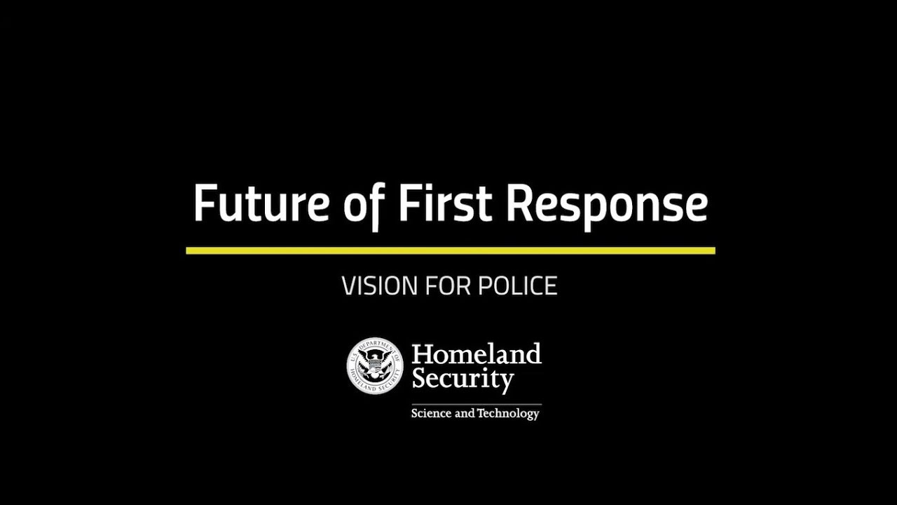Future Of First Response Vision For Police Youtube
