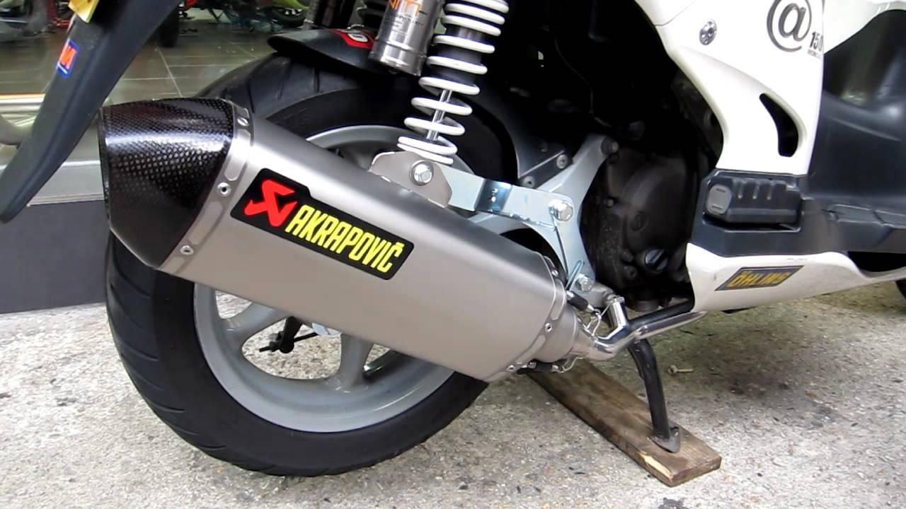 Akrapovic Honda 150 By Www Ahlam Com Hk Youtube