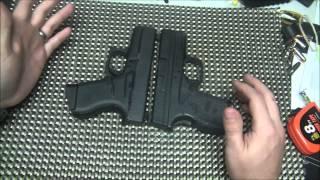 glock 43 vs springfield xds 9mm part 1
