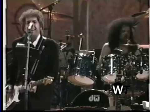 BOB DYLAN -All Along The Watchtower (Live in Woodstock 1994)