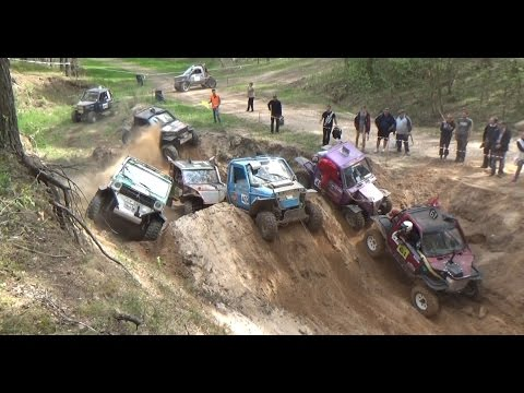 4x4 Off-Road Vehicles In Sand Pit | ORO 2016