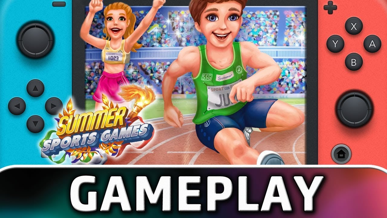 Summer Sports Games | First 20 Minutes on Nintendo Switch
