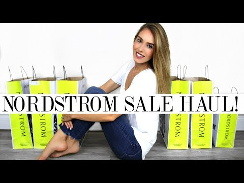NORDSTROM ANNIVERSARY SALE TRY ON HAUL 2017 | Shea Whitney