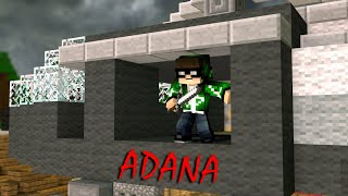 HELİKOPTER İLE ADANA'YA! MİNECRAFT BED WARS BKT