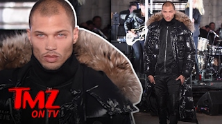 Hot Mug Shot Guy Jeremy Meeks Makes His NYFW Runway Debut | TMZ TV