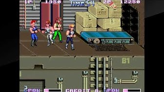 Double Dragon II: The Revenge Two-Player Playthrough (Switch Arcade Archives)