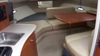 Bayliner 275, 2005 Ciera Cruiser Cabin Walk thru Video by South Mountain Yachts (949) 842-2344