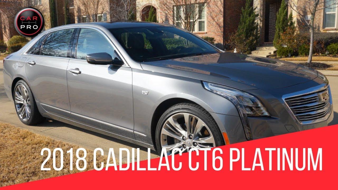 2018 Cadillac Ct6 Platinum With Super Cruise Youtube