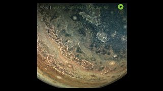 Jupiter up close: NASA's Juno Mission flies by gas giant in reconstructed animation
