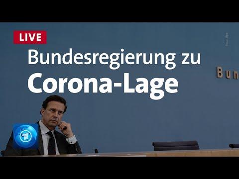 Bundespressekonferenz zur aktuellen Corona-Lage