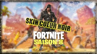 HEART NOIR, season 8 evolutionary skin, know everything about this skin! FORTNITE