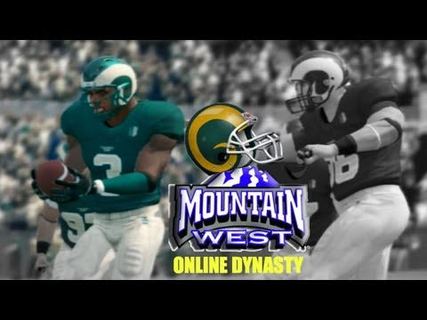 NCAA Football 14: Colorado State Online Dynasty (Mountain West Conference) - EP1