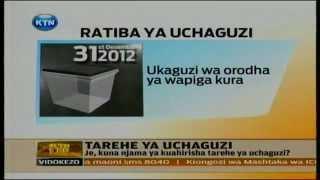 News:Tashwishi kuhuzu tarehe ya uchaguzi 2013