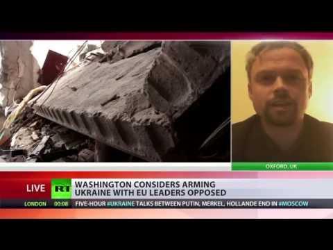 'US & UK try to sabotage any Ukraine peace agreement'